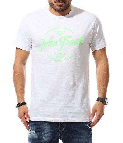 Тениска със свеж надпис 11054