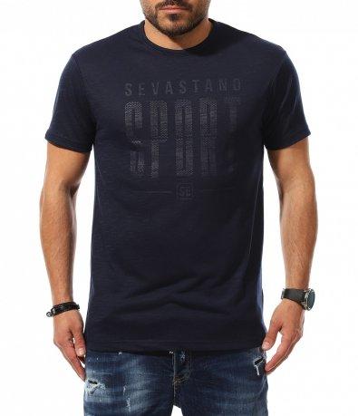 Тениска със надписи 11039