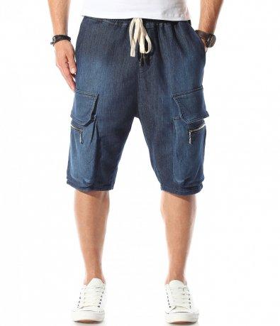 Къси дънкови панталони 11070