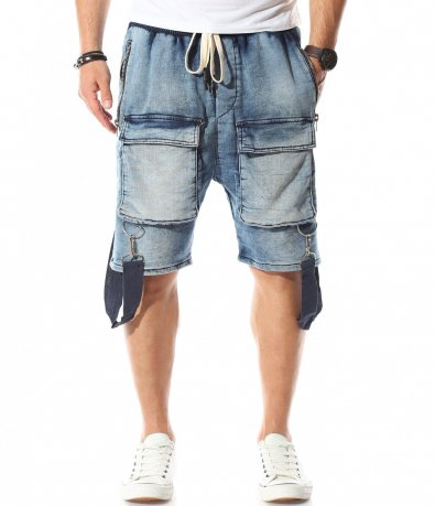 Къси дънкови панталони 11073