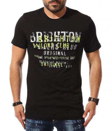 Тениска с апликация 11079