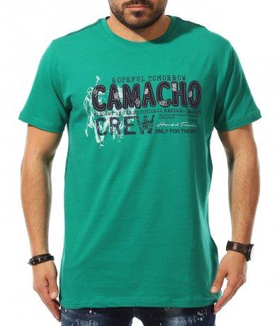 Тениска с щампа 11074