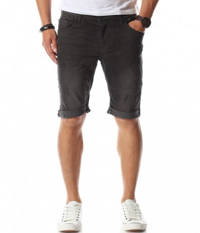 Сиви къси панталонки 11092