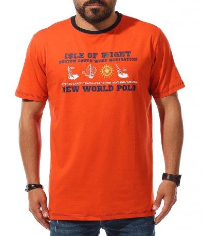 Спортна тениска в големи размери 11135