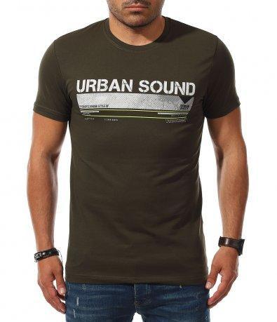 Urban тениска с надпис 11140