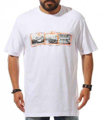 Летен t-shirt с щампа 11145