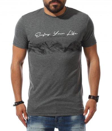 Ежедневна тениска с принт 11146