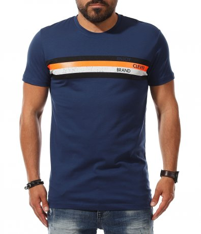 Спортна тениска с щампа 11152