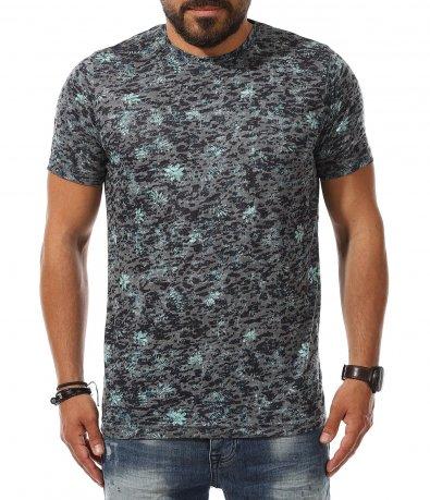 Ефирна пъстра тениска 11165