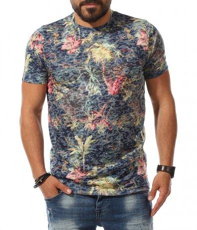 Лятна тениска с десен 11161