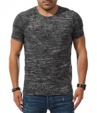 Тениска с нетипичен принт 11166