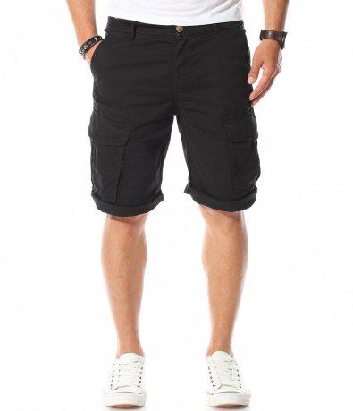 Черни карго панталонки 11185