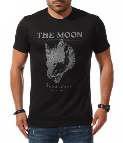 Памучен t-shirt с апликация 11198