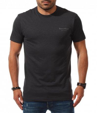 Тениска с малко лого 11202
