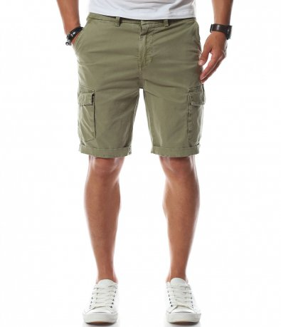 Втален къс карго панталон 11227