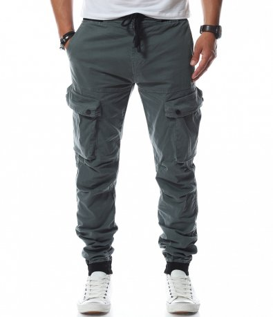 Ежедневен карго панталон с ластици 11230