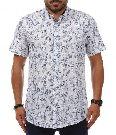 Лятна риза с цветен принт 11247