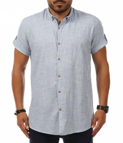 Ежеденвен shirt с ниска яка 11242