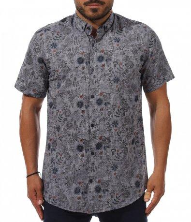 Лятна риза със закачлив принт 11245