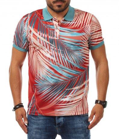 Авангардна тениска с яка 11263
