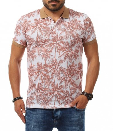 Casual тениска с якичка 11264