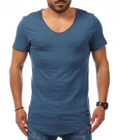 Тениска с дълбоко деколте 11266