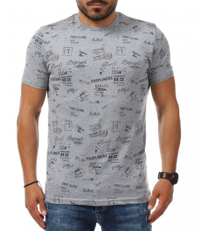 T-shirt със закачлива декорация 11235