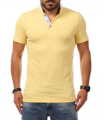 Тениска с авангардна яка 11276