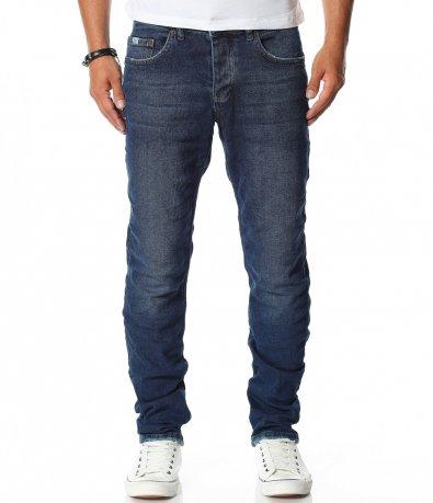 Тъмно сини дънкови панталони 11491