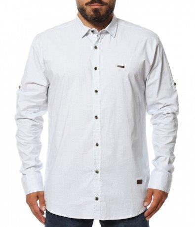 Спортно елегантна риза в големи размери 11587
