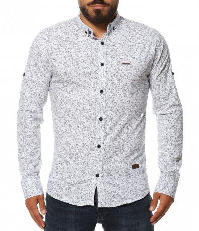 Риза с флорален принт 11590