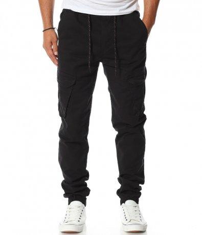 Спортен панталон със странични джобове 11602