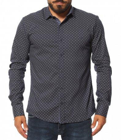 Вечерна риза с декорация 11610