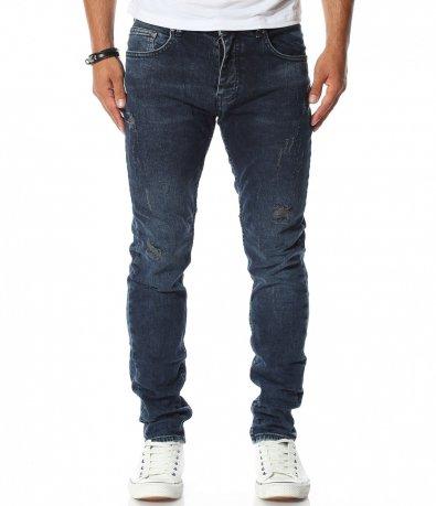 Тъмно син дънков панталон Red Point 11618