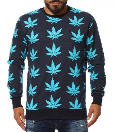 Спортна блуза с провокативен акцент 11638