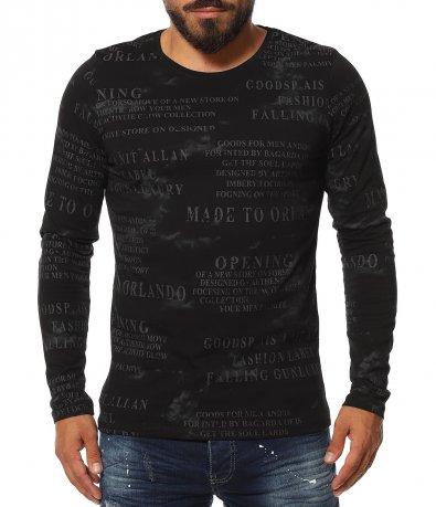 Есенна тениска с дълъг ръкав 11624