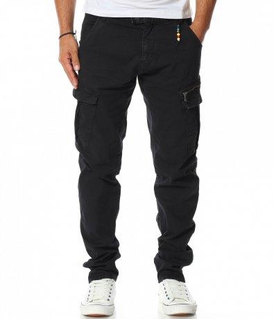 Панталон със странични джобове