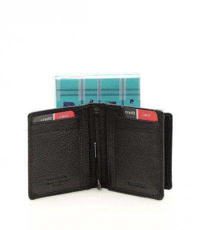 Кожено портмоне с щипка 11682