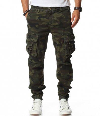 Кламуфалажен карго панталон 11709