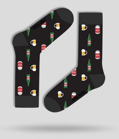 Дълги чорапи с щампа бири 11741