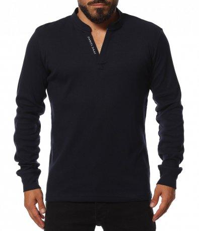 Елегантна блуза с ниска яка 11749