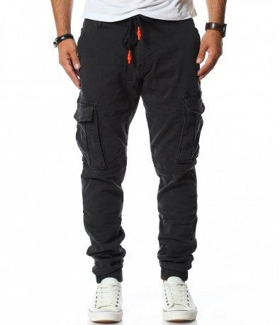 Спортен панталон със странични джобове 11787