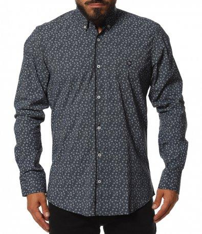 Вечерна риза в slim fit 11807