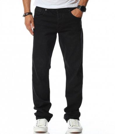 Черни дънки  в regular fit  11815