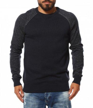 Пуловер с реглан ръкав 11821