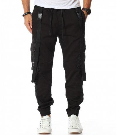 Ефектен панталон с джобове 11838