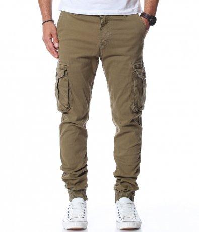 Втален панталон с карго джобове 11859