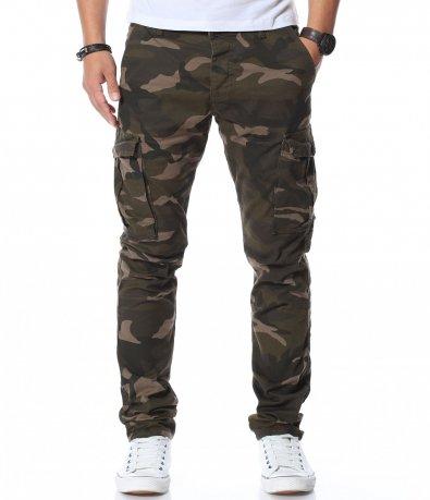 Камуфлажен карго панталон 11897