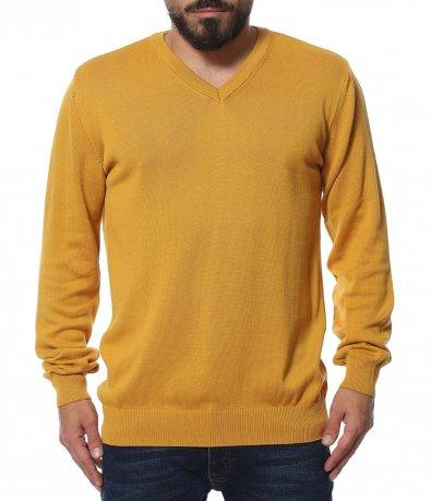 Плетена блуза с бод деколте 11944