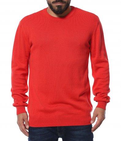 Пуловер с овално деколте 11946